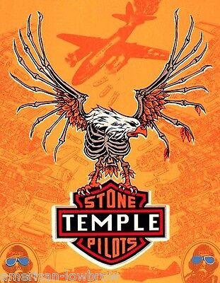Emek Art STP Stone Temple Pilots mini Concert Tour Poster Eagle Core Purple