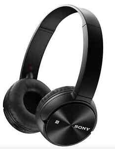 Sony Bluetooth Headphones MDR ZX330BT