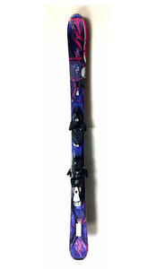 Used K2 SuperFree women's downhill skis with bindings 139, 146cm