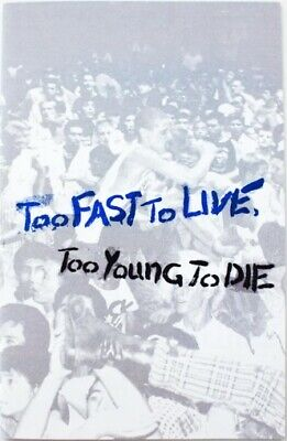 Too Fast to Live Too Young to Die catalog zine Shepard Fairey Black Flag
