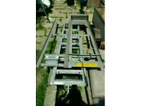 Roof mounted ladder system