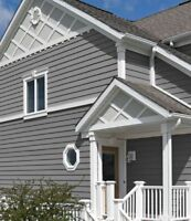 EAVESTROUGH AND SIDING INSTALLATION
