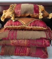 Used 6pc queen size bed set for sale