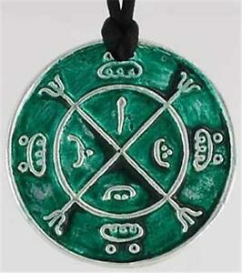 Circle of Protection Amulet Talisman Pendant Necklace! pagan wicca witch