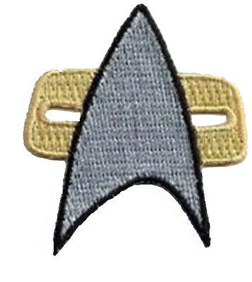 Star Trek Voyager Communicator Aufnäher Patch