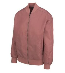 NEW with TAG Reebok Women's Black Label Bomber Jacket Rose Color