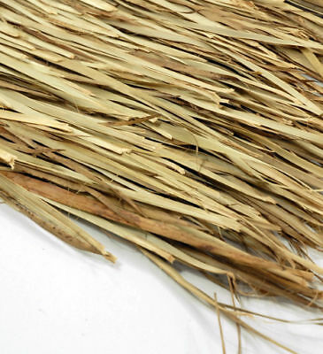 """52""""x 7' Waterfowl Layout Blinds Camo Hunting Grass Boat Palm Leaf Thatch Mat"""