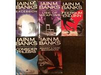Ian Banks books x 5