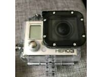 GoPro Hero 3+ Silver Edition with ALL ATTACHMENTS