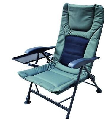 Fishing Chair - Padded Recliner Chair  *FREE SIDE TRAY* SALE PRICE