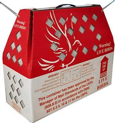 1* Horizon Shipping Box for Live Birds Single Stall-Chicken, Poultry, Pidgeon