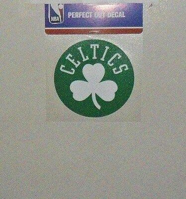 Boston Celtics Merchandise - BOSTON CELTICS 4 X 4 DIE-CUT DECAL OFFICIALLY LICENSED PRODUCT