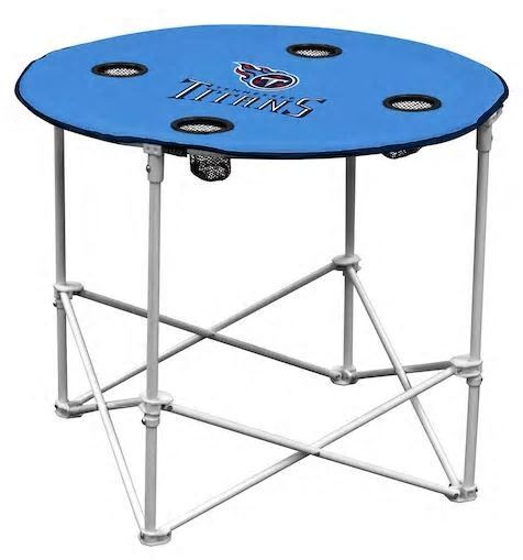 Brand New Logo Brand NFL Tennessee Titans Collapsible Round