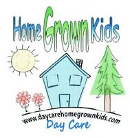 HOME GROWN KIDS DAY CARE
