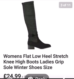 de894f10974 Ladies size 6 knee high boots brand new