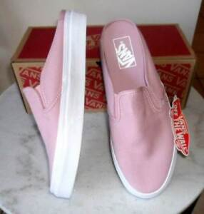 67f84fd8552442 VANS Classic Slip-On Pink Canvas NEW in Box! RP 99.95 Size 39 8.5 ...