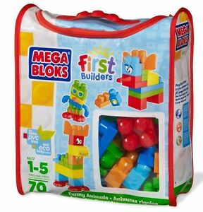Mega Bloks - First Builders - Gros sac de construction