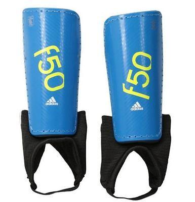 4383cc53f7ec Adidas Soccer Protective Shin Guards Pads Black Blue f50pro f50 pro size S  Small