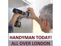 £18/h if you book a day! Handyman,Painting,Assembly,Flooring Barnet,Hackney,Finchley,Ilford,Chigwell