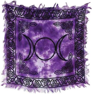 pagan circle velvet tarot cloth