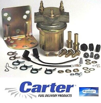 CARTER FUEL PUMP ELECTRIC HI PERFORMANCE 72gph ROTARY VANE CAR TRUCK GAS DIESEL