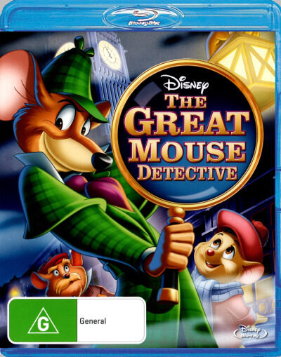 Basil the Great Mouse Detective  - BLU-RAY - NEW Region B