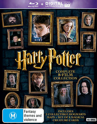 Harry Potter: Complete 8-Film Collection (Blu-ray/UV)  - BLU-RAY - NEW Region B