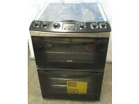 Zanussi Gas Cooker 60cm Wide Double oven (New) with Free Delivery