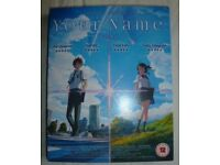 Your Name Blu-ray (Anime Limited)(Directors: Makoto Shinkai) pre-owned like new £9