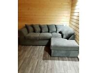 COUCH DYLAN JUMBO CORD CORNER OR 3+2 SEATER SOFA SET AVAILABLE IN STOCK