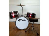 Junior real drum kit (not toy)