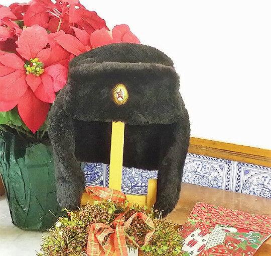 97f88ab7721 Original Russian USSR Army Ushanka hat