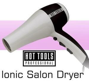 NEW HOT TOOLS HAIR BLOW DRYER NANO CERAMIC IONIC SALON HAIR BLOW DRYER LIGHTWEIGHT 105901659