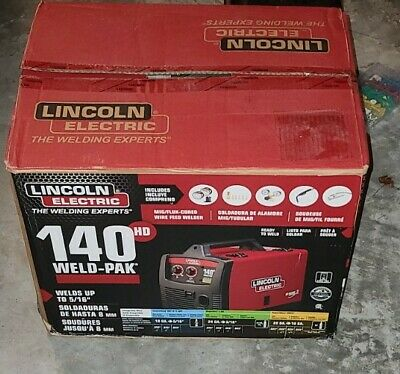 Lincoln Electric 140 Hd Weld-pak 110 Welder K2514-1 Mig Wire Feed