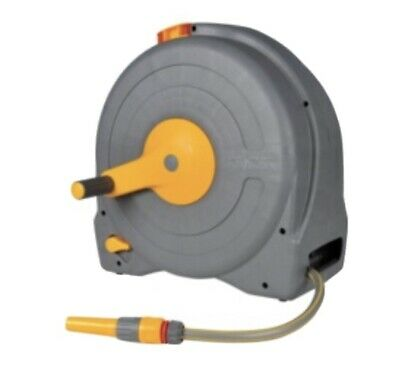 Hozelock Thru-Flow Self Layering Reel and Hose 0000 Fast Reel Free Standing