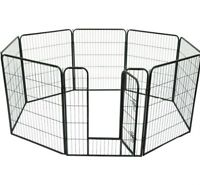 """PAWHUT- 24"""" - 8 Panel PET PLAYPEN For DOGS.CATS, & RABBITS- NEW"""