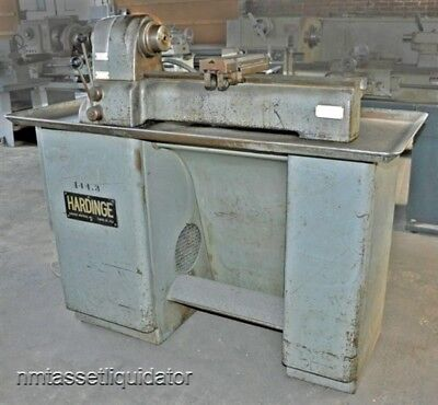 Hardinge Vbs 2nd Operation Lathe W Dovetail Bed Dbl Tool Cross-slide As-is
