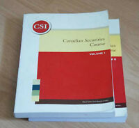 Are you taking Canadian Securities Course and need help?