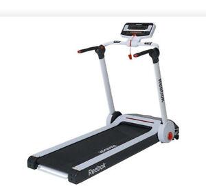 Reebok i-Run Motorised Folding Treadmill - ASSEMBLED **RRP £799 **