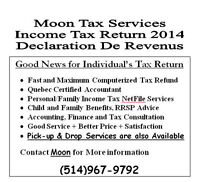 Moon Tax Services - Income Tax Return 2014