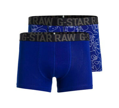 G-Star RAW Underwear Herren Boxershorts Trunks Sport Gr. L  - 2er Pack -