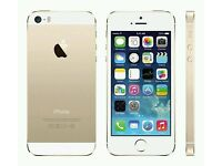 I phone SE white and gold 64gb