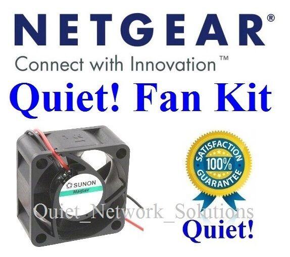 1x Quiet replacement fan for Netgear JGS524 (single fan version) Low Noise