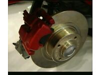 brake pad and disc replacement