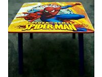 Spiderman Table and Chairs