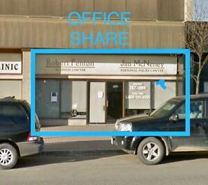OFFICE SPACE FOR RENT - SHARE - Fort St. John: 9836 100 Ave