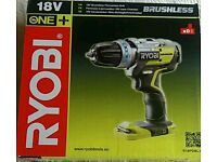 New And More Powerful RYOBI One+ Hammer Drill (Brusshless)