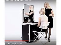 Portable Makeup Station. Perfect for Studio and Location