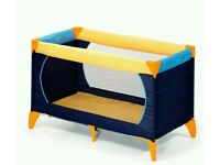 New Hauck dream n play travel cot