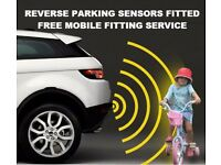 REAR REVERSE CAR PARKING SENSORS FITTED WITH FREE MOBILE FITTING SERVICE FROM JUST £100